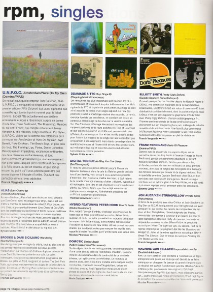 unpoc review in french Magic magazine